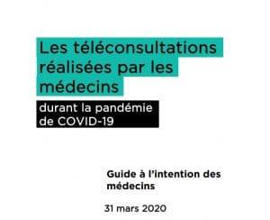 Les télécommunications réalisées par les médecins