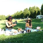 Farewell picnic for our two MPH students Neeru Hayre and Raveena Gill