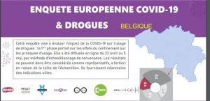 Enquête européenne COVID-19 et Drogues