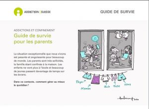 Addictions et confinement - Guide de survie pour les parents