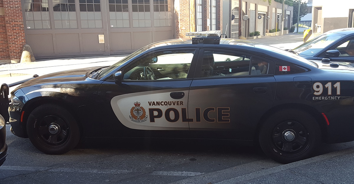 Vancouver police department vehicle | decriminalizing drugs in vancouver