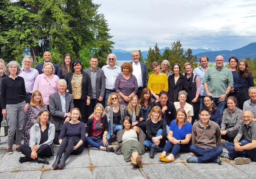 Attendees to the Peter Wall Research Roundtable on final day at UBC